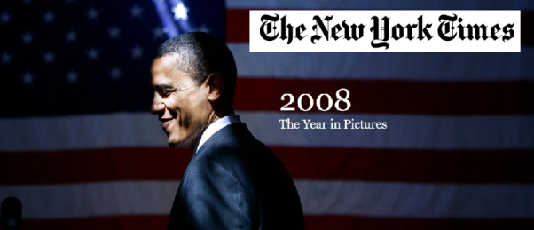 Fotocomposición mediante capturas de pantallas del web The New York Times