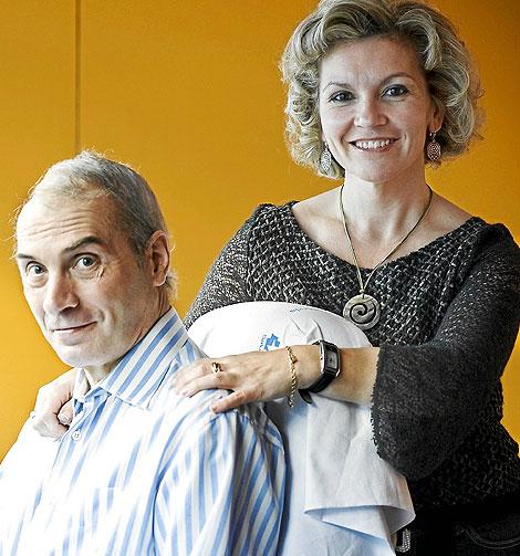 Jesús Neira y su esposa, Isabel Cepeda