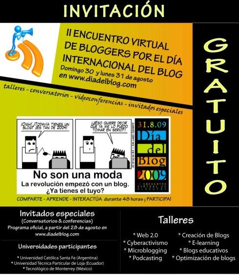 Invitación Día del Blog 2.009