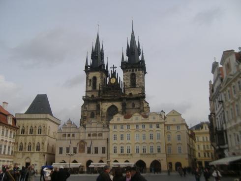 La Plaza de la Ciudad Vieja, el centro de Praga