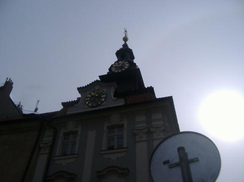 Reloj con numeración judía