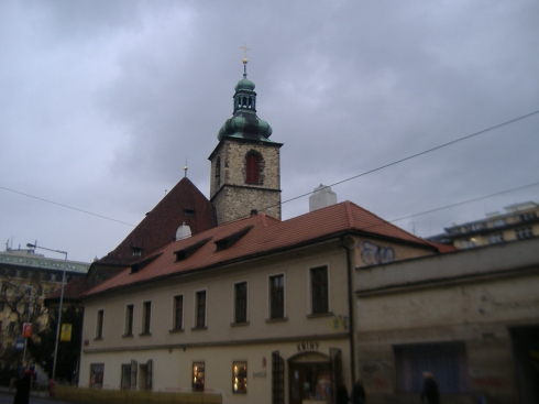Una calle del centro de la ciudad