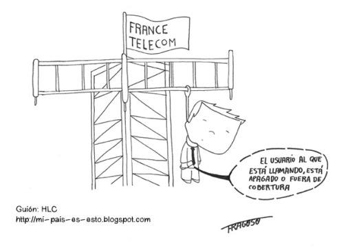 Fragoso: Los suicidios en France Telecom