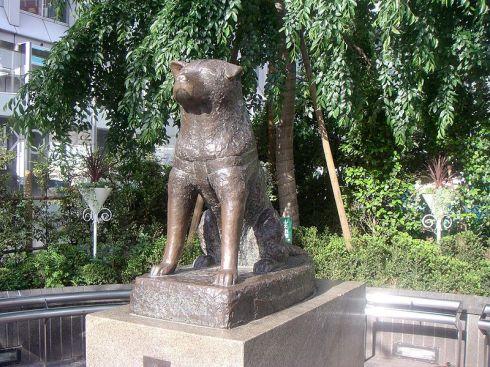 Estatua_Hachiko